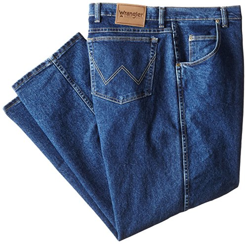 7413cb04 Wrangler Men's Big & Tall Rugged Wear Advanced-Comfort Regular-Fit Jean -  Buy Online in Oman. | Apparel Products in Oman - See Prices, Reviews and  Free ...