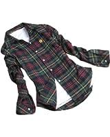 krisp damen leichte karierte bluse holzf ller lumberjack. Black Bedroom Furniture Sets. Home Design Ideas