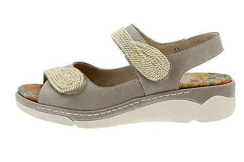 9f707996a2f Sandalia Plantilla Extraíble Piel Visón 180511 PieSanto Zapato Confort   Amazon.es  Zapatos y complementos