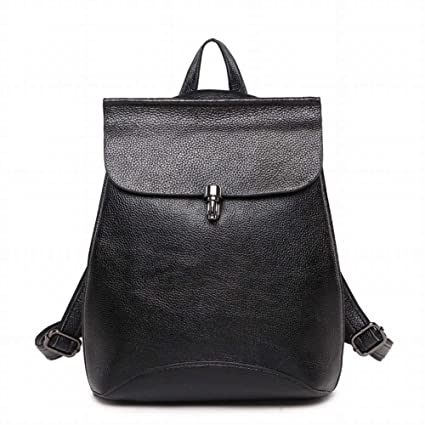 2c7fe7c266dc Outdoor Creative Fashion Multi-Function Shoulder Bag Female Pure Color  Leather Backpack Simple All Match Soft Leather Handbag Dual-Use Travel Bag  for Women