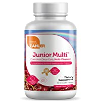 Zahler Junior Multi, Chewable Multivitamin for Kids, Great Tasting Kids Multivitamin...