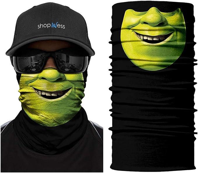 Shrek Cache-Cou//Bandana Multifonctions