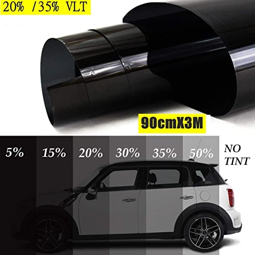 Uncut Roll Window Tint Film 35/% VLT 36 In x 50 Ft Feet Car Home Office Glass