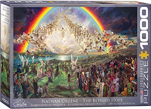 EuroGraphics The Blessed Hope by Nathan Greene 1000-Piece - Greene The Stores