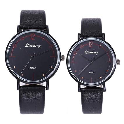 Amazon.com: Couples Casual Relojes Clearance- Iuhan 2pcs ...