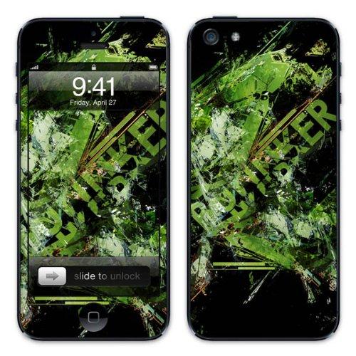 Diabloskinz B0081-0034-0034 Vinyl Skin für Apple iPhone 5/5S Bunker