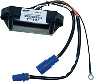 Johnson Evinrude Power Pack and RPM 25 Hp 1977-1984 Model Manual Start 2 Cyl WSM 113-2453 CD2 NO LIMIT OEM# 18-5758, 581649, 581924, 581926, 581927, 582452, 582453, see description