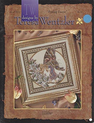 SPRING FAERIE Cross Stitch designs by Terea Wentzler Craft leaflet