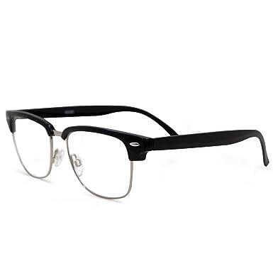 717cc7abe10 Amazon.com  In Style Eyes Sellecks Bifocal Reading Glasses for Both Men    Women Black 1.00  Clothing