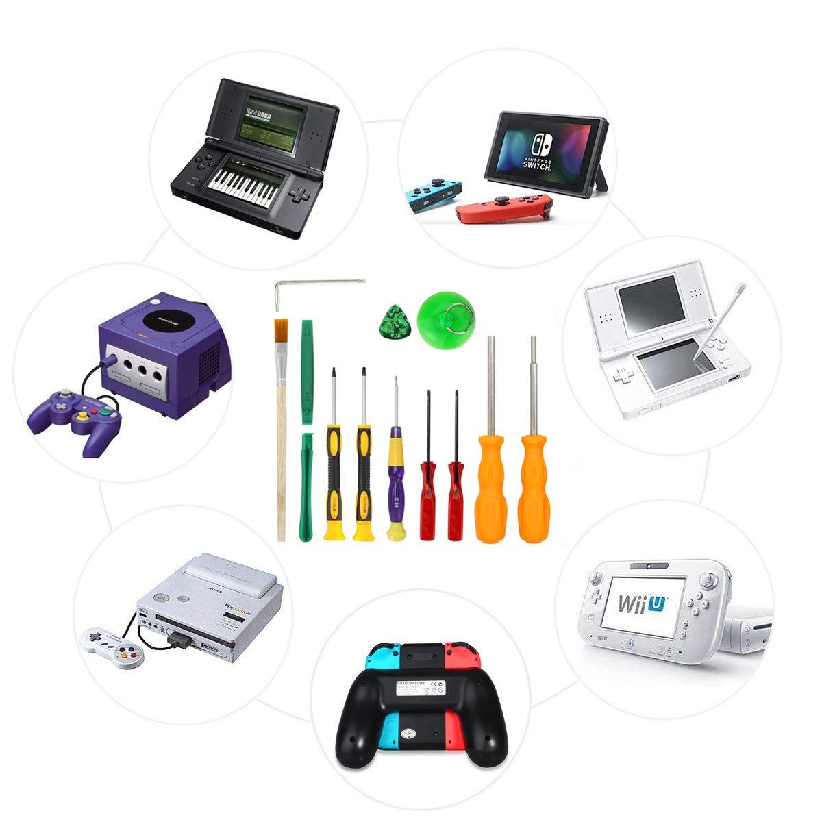 Nintendo - Juego de destornilladores para Nintendo Switch Joy-Con, Nintendo New 3DS, Wii, Wii U, NES, SNES, DS Lite, GBA Gamecube: Amazon.es: Bricolaje y ...