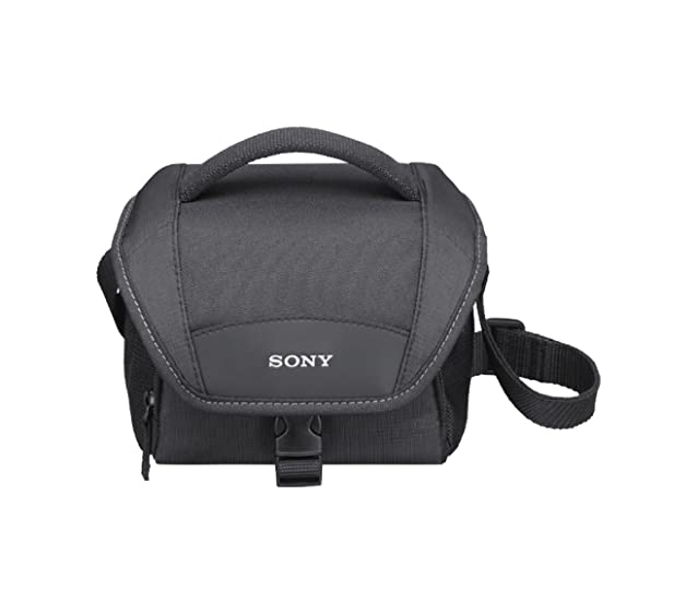 Sony LCSU11 Stylish and Compact Camcorder Carrying Case (Black) <span at amazon