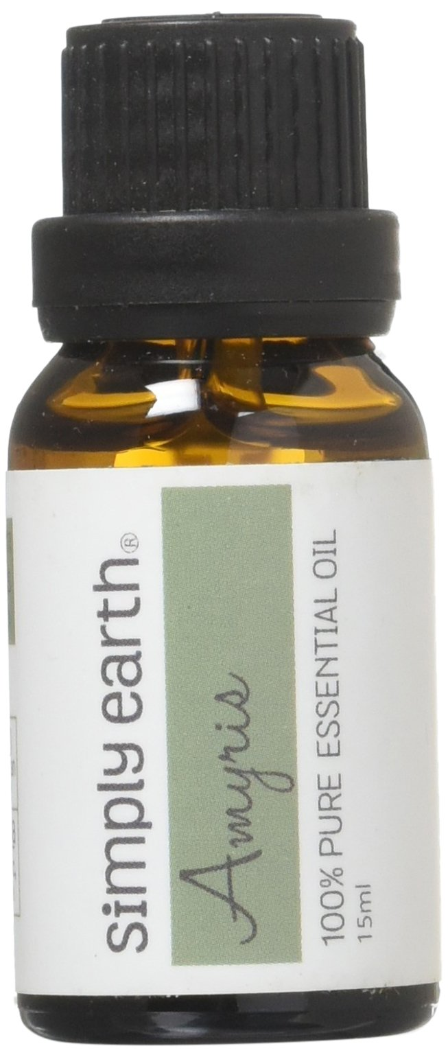 Amyris Essential Oil - 15 ml, 100% Pure Therapeutic Grade by Simply Earth