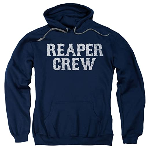 8ac7d3f3feb Amazon.com  Sons Of Anarchy Reaper Crew Pullover Hoodie XX-Large ...