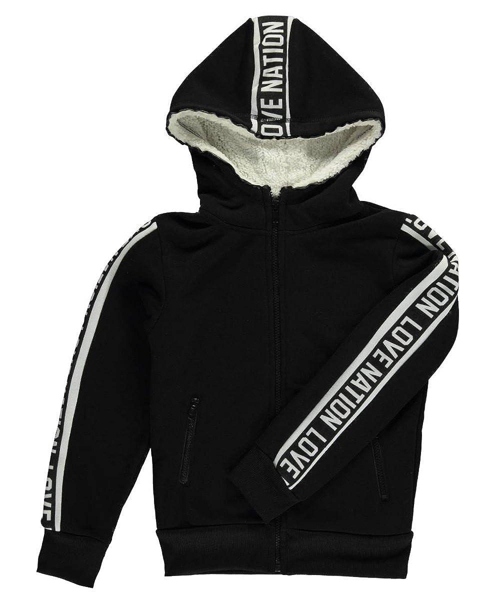 Joyce Concept Big Girls Logo Love Hoodie-black