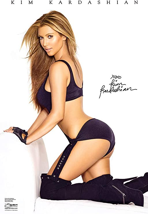 """Kim Kardashian Special Edition Blonde 24/""""x36/"""" Color Celebrity Wall Poster"""
