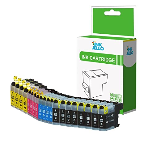 InkJello - Cartucho de Tinta Compatible para Impresora Brother DCP ...