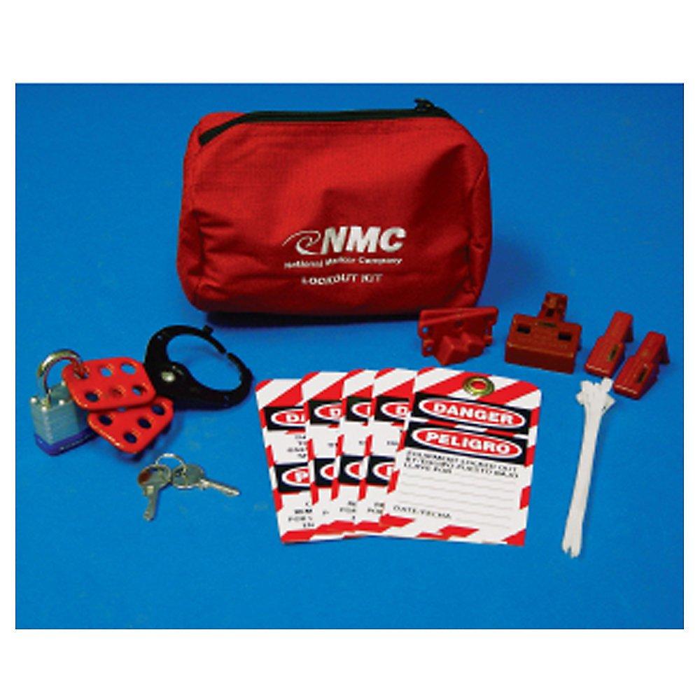 Nmc Bilingual Lockout Pouch Kit