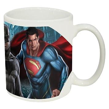 Taza Porcelana En Caja Regalo De Batman Vs Superman Amazon Co Uk