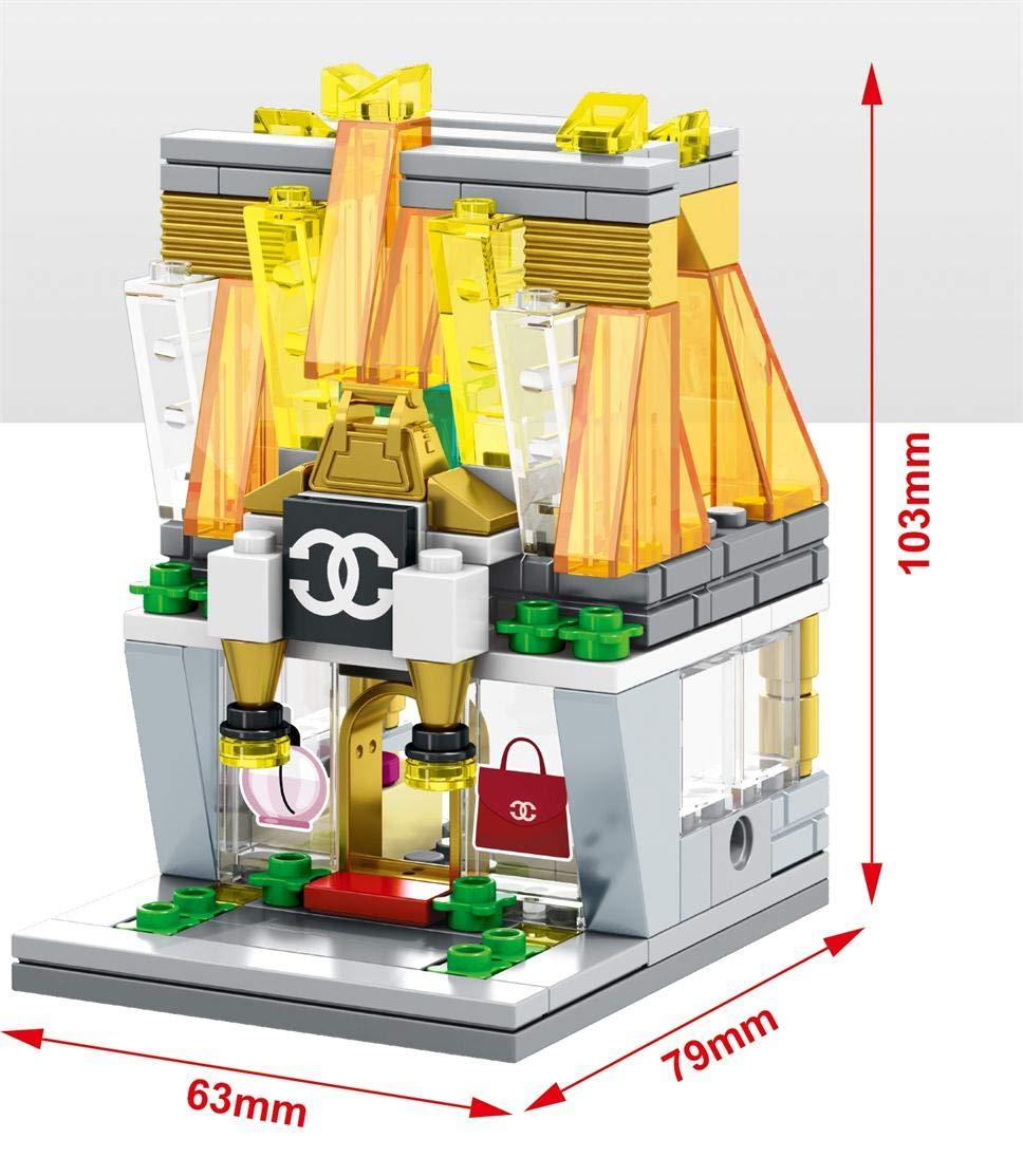 Vibgyor Vibes Interlocking Building Blocks (Multicolor, 126 Pieces)