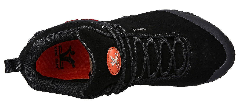 XIANG GUAN Mens Outdoor Low-Top Lacing Up Water Resistant Trekking Hiking Shoes