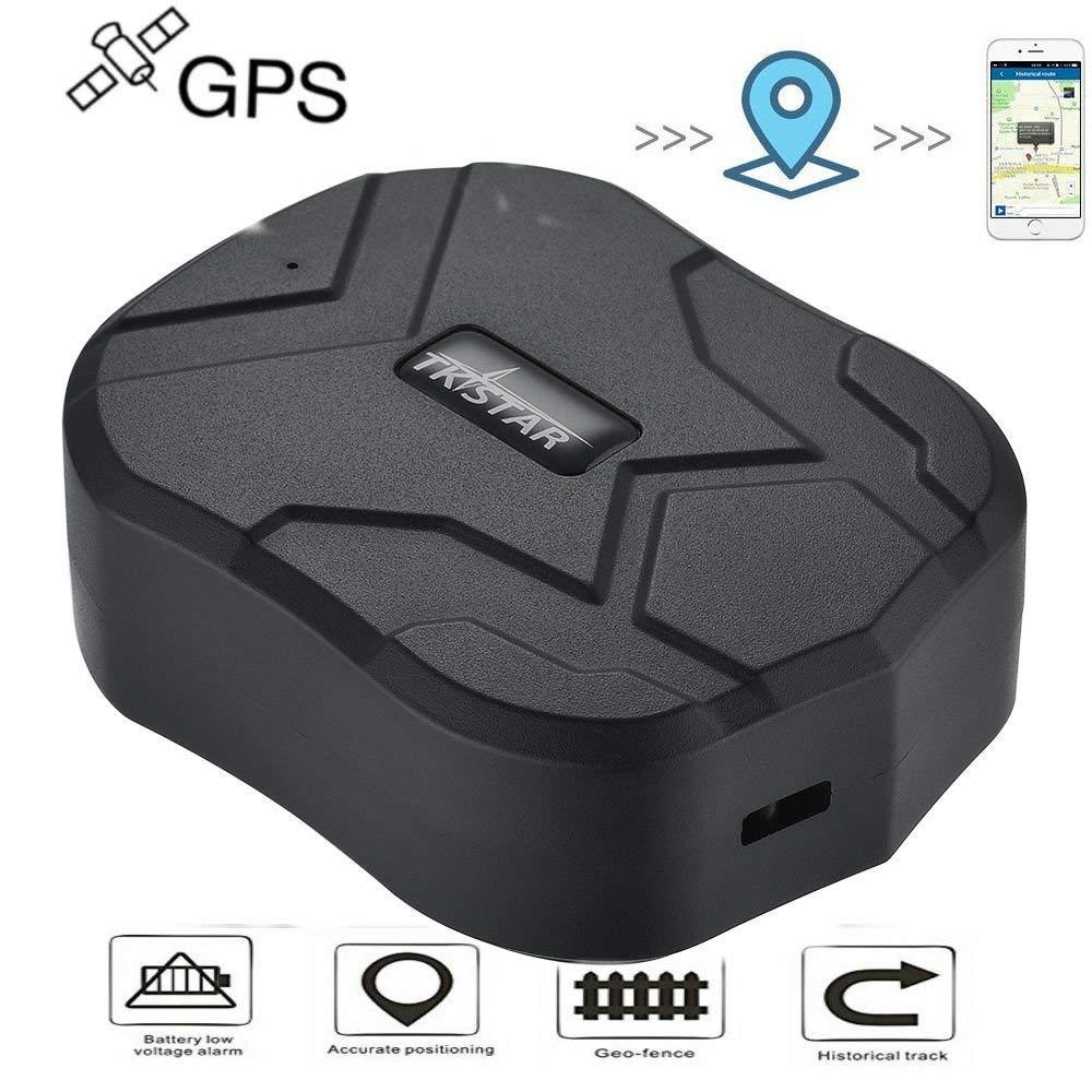 Hangang Localizador GPS para Coche Seguimiento en Tiempo Real Posicionamiento Preciso Monitor Magnético Impermeable a Distancia de 150 Días ...