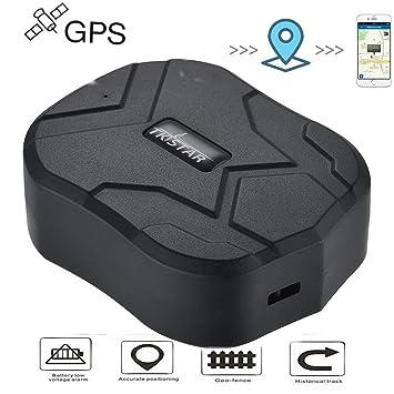 Hangang Localizador GPS para Coche Seguimiento en Tiempo Real Posicionamiento Preciso Monitor Magnético Impermeable a Distancia