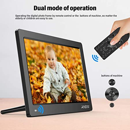 ... Digital (Reproductor MP3 y MP4) Video/E-Book,Despertador,Calendario,1Control Remoto,Tarjeta de Memoria 8 GB,Regalo para Navidad: Amazon.es: Electrónica
