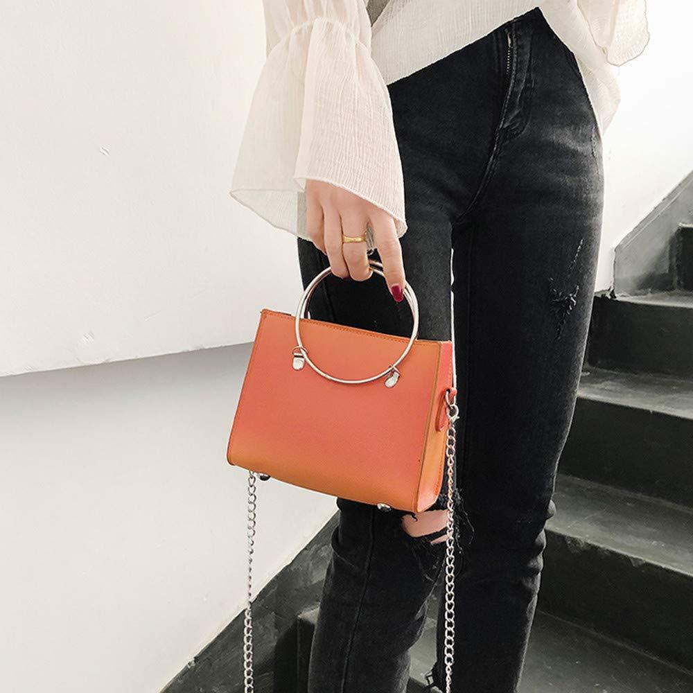 Fashion Bags Woman Fashion Gradien Simple Design Shoulder Bag Messenger Bag,Outsta 2019 Deals