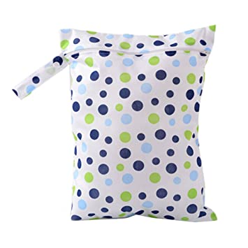 Baby Zip Wet Dry Bag For Infant Baby Kid Cloth Diaper Nappy Waterproof Pouch Reusable Changing Bags