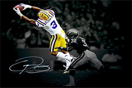 693a602121e Image Unavailable. Image not available for. Color  Odell Beckham Jr  Autograph Replica ...