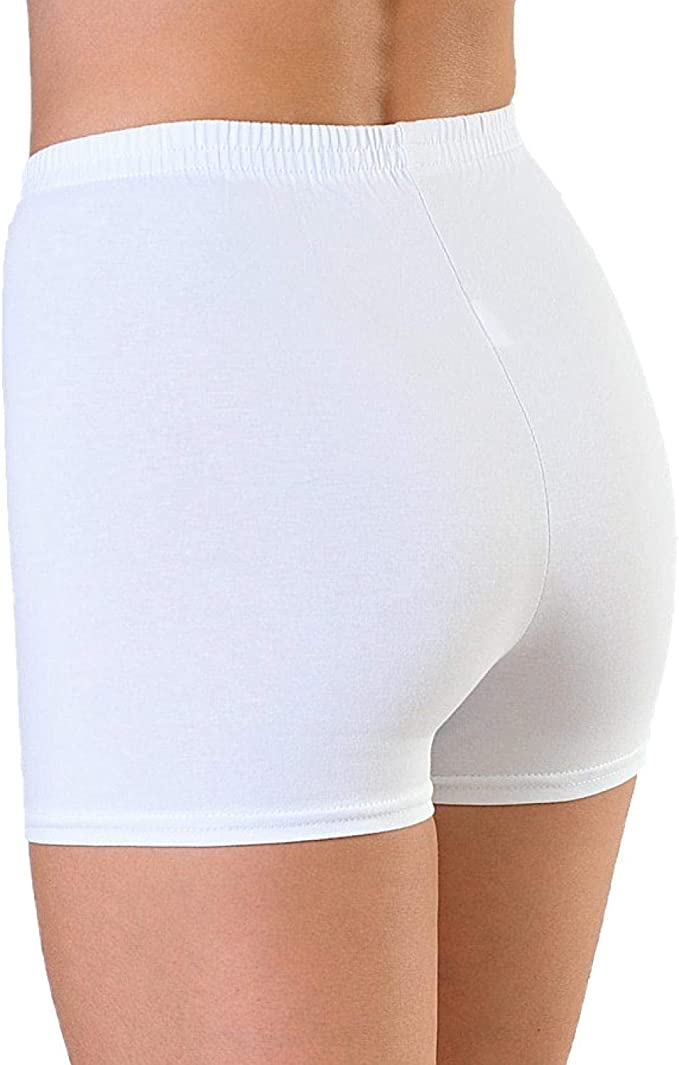 Alkato Damen Shorts Hotpants Blickdicht Stretch