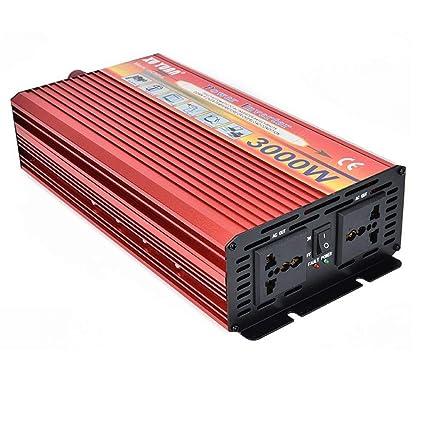 DWAN03 Convertidor de Corriente Portátil Inversor de ...