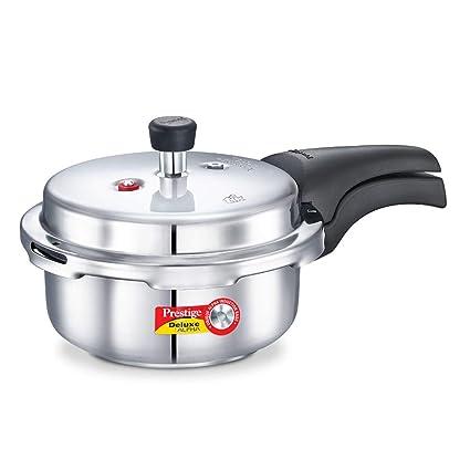 2 Litre Prestige Deluxe Alpha Stainless Steel Pressure Cooker Baby Handi