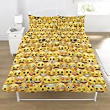 Emoji Double Duvet Cover Emoji Rotary Duvet Set Double Yellow