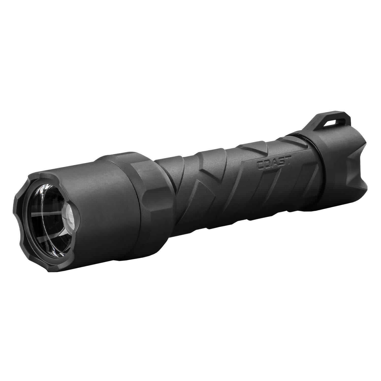 Coast Polysteel 600 Focusing LED Flashlight, 710 Lumens