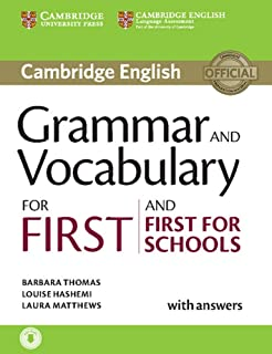 Grammar and Vocabulary for First and First for Schools Book with ...