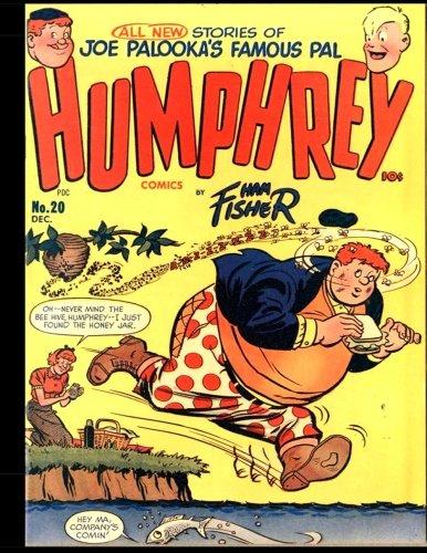 Humphrey Comics #20: Golden Age Humor Comic 1951 - Joe Palooka's Famous Pal Humphrey! ebook