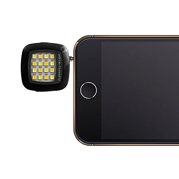 Amazon.com: Stouch Portable Mini Led Flash selfie using sync led ...