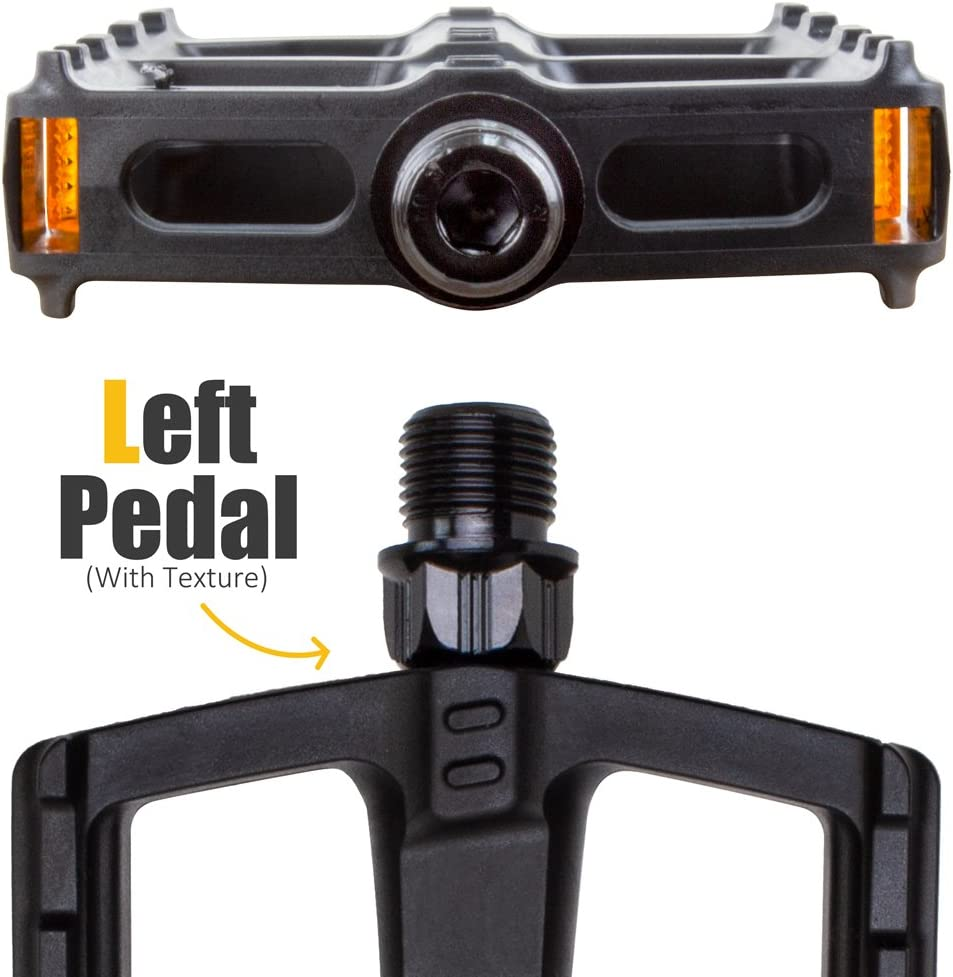 Pair Anti-Rutsch mit Spindel 9//16 BV Fahrrad-Pedale Set universale Fahrradpedale MTB-Pedale