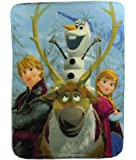 """The Northwest Company Disney's Frozen """"Out in The Cold"""" Fleece Throw Blanket, 46"""" x 60"""""""