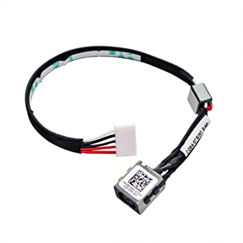 DC power jack plug cable HARNESS for Dell Inspiron 5540 5542 5545 5547 5548