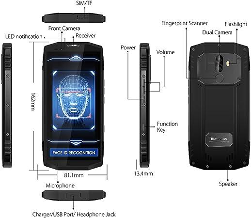 Blackview BV9000 Pro Smartphone Resistente (2018): Amazon.es: Electrónica
