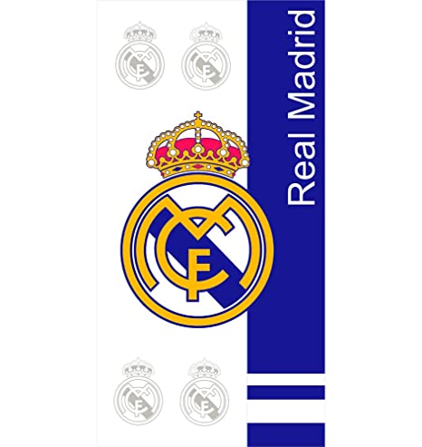 Real Madrid – toalla de playa algodón grande del Real Madrid