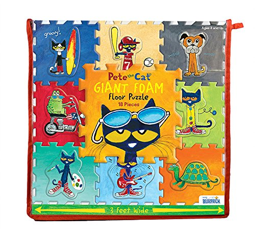 Pete the Cat Giant Foam Floor Puzzle