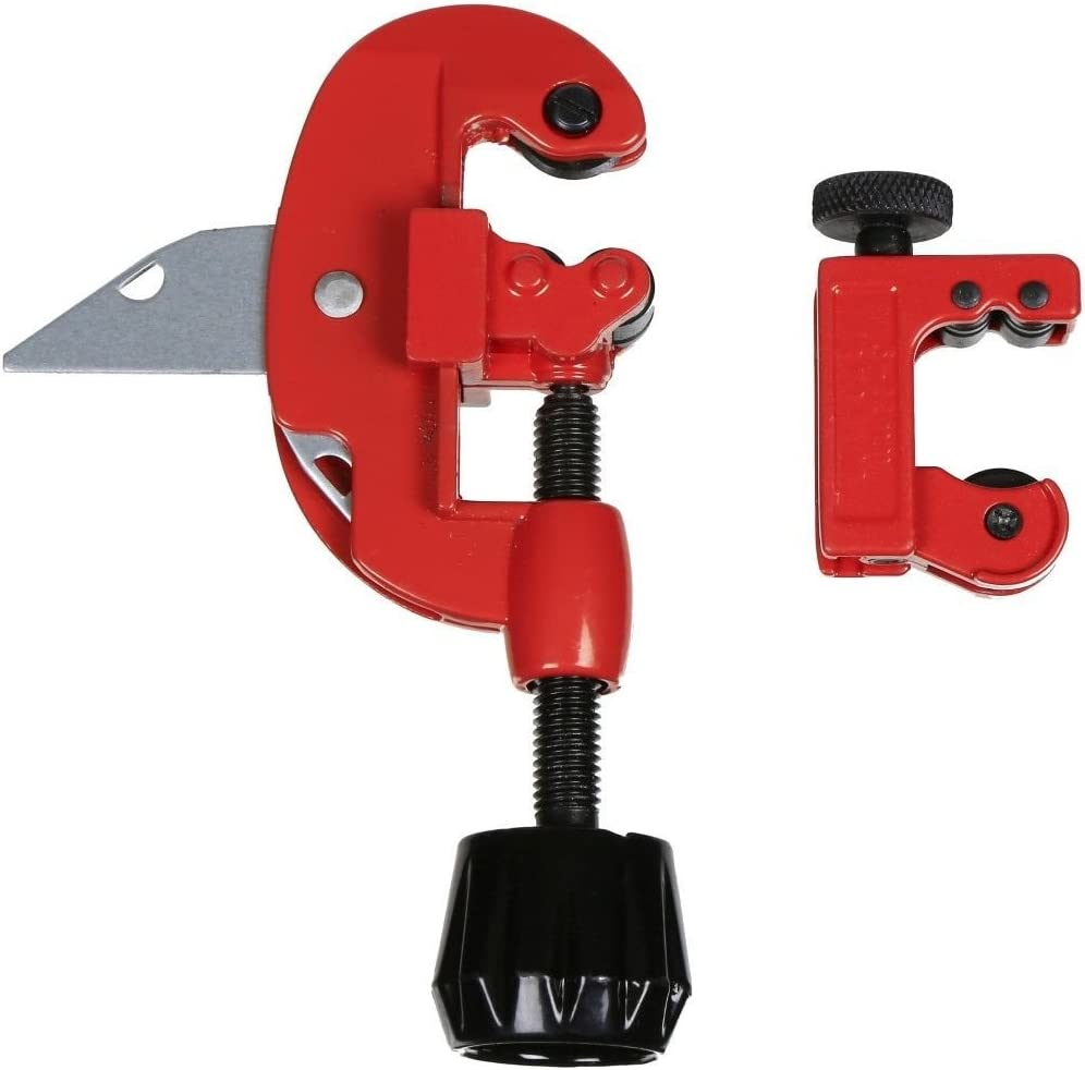 """Tubing Cutter Cuts Brass Steel Aluminum Tube 1//8/"""" to 1-1//8/"""" Pipe Tools Tubing"""