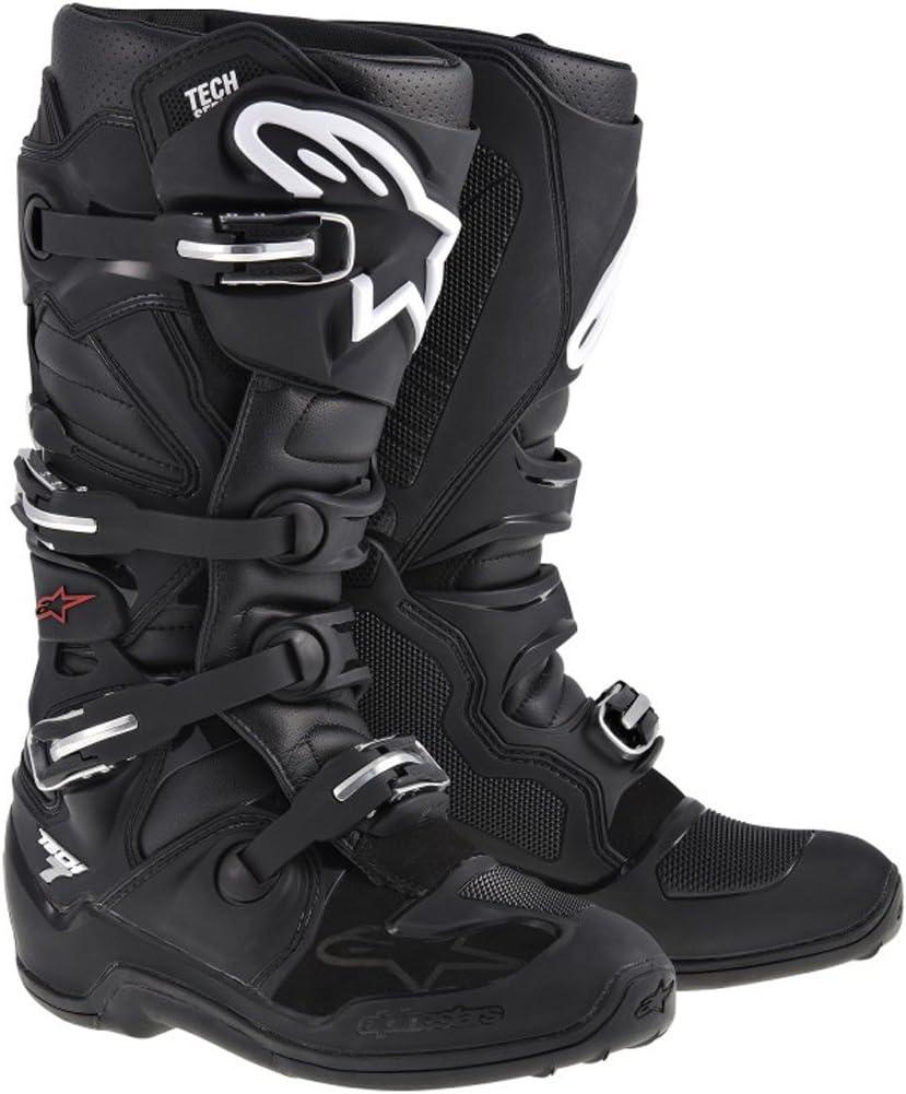 Alpinestars Tech 7 Mens Black Motocross Boots Black 6