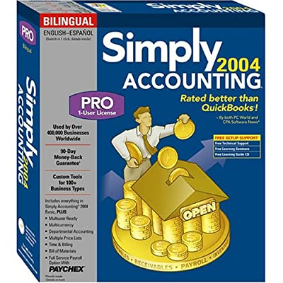 Simply Accounting Pro 2004 (Bi-Lingual)