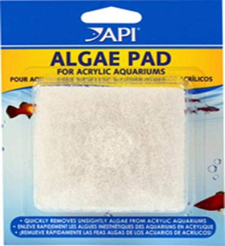 API Algae SCRAPERS and Hand HELD Pads for Acrylic Aquariums