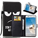 LG Aristo Case, LG LV3 Case, LG LV 3 Case, FirstCover Wallet Folio PU Leather Flip Case Cover with Card Holder and Wrist Strap for LG LV3/LG Aristo(MetroPCS)