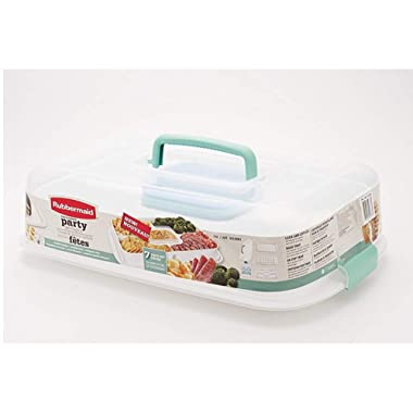 Rubbermaid Ultimate Party Serving Kit, white